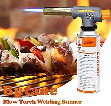 Butane Torch Blow Torch Welding Burner with 360