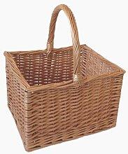 Butcher Shopping Wicker Basket Brambly Cottage