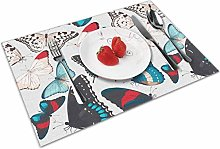 Butter-Fly Insulation Heat Resistant Table Mats