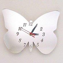 Butterfly Big Wings Clock Mirror
