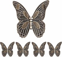 Butterfly Drawer Knobs and Handles for Cupboard