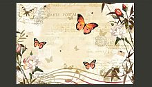 Butterfly Melodies 210cm x 300cm Wallpaper East