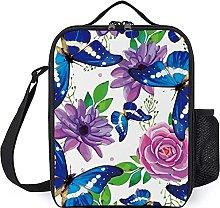 Butterfly Purple Clip Art Design, Snack Bag