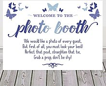 Butterfly Sign For Photo Booth Available In A