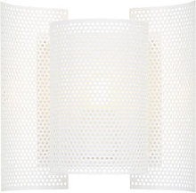 Butterfly Wall light with plug - / Perforated