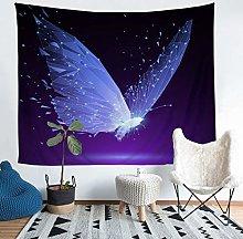 Butterfly Wall Tapestry Dreamy Butterfly Print