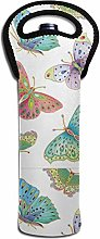 Butterfly Wine Thermal Insulation Bags Bottle