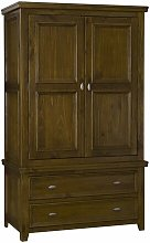 Buttonwillow 2 Doors Wardrobe Marlow Home Co.