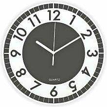 BUVU Wall Clock, Gray, 30x30x4cm