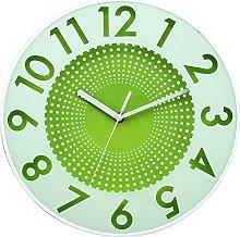 BUVU Wall Clock, Green, 30 x 30 x 5 cm