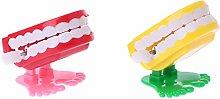 Buwei Clockwork Jumping Denture Educational Toys