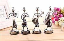 Buwei Mini Iron Music Band Model Miniature