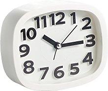 Buwei Mini Mute Alarm Clocks Battery Bedside Desk