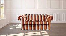 Buy a Striped Velvet Chesterfield Sofa |Fabric