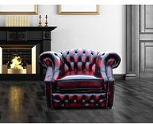 Buy Chesterfield Red Armchair|Sofa Sale UK
