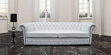 Buy large living room sofa | white leather