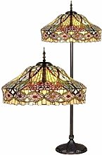 Buy Tiffany Style Glass Floor Lamps UK - Christmas