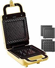 BuyBuyBuy Sandwich Toaster, 2-in-1 Waffle Maker,