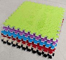 BuyElegant 10 x EVA Foam Rug Tile (Green) Soft