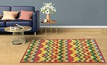 BuyElegant Vintage Art Area Rug Floor Carpet