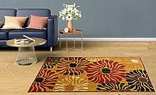 BuyElegant Wild Flowers Area Rug Floor Carpet