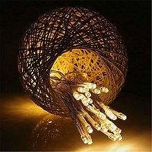 BUYERTIME 5M/16.5ft 50 LEDs Fairy String Lights,