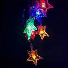 BUYERTIME 5M/16.5ft 50 LEDs Star Fairy String