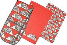 Buzz SPIKE the HEDGEHOG Print Tea Towels & Double