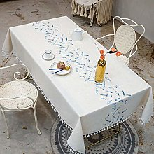 Bwhman Vailge Tablecloth 3D Tablecloth Embroidery