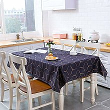 Bwhman Vailge Tablecloth 3D Tablecloth Purple