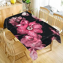 Bwhman Vailge Tablecloth Tablecloth Flower