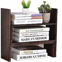 Bxiaoyan Desktop Organizer Multipurpose Shelf Desk
