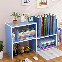 Bxiaoyan Wooden Magazine Rack Small Tabletop