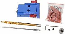 BXU-BG Mini Pocket Slant Hole Jig Kit +Step