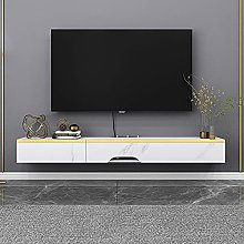 BXYXJ Floating TV Stand Component Shelf,47. 2in