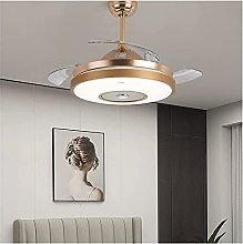 BXZ Ceiling Lamp Lighting Fan Chandelier, Led