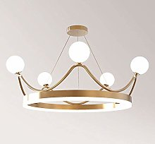 BXZ Chandelier Ceiling Lamp Crown Appearance