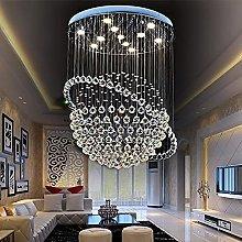 BXZ Chandelier Ceiling Light, Modern Led Crystal