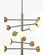 BXZ Chandelier Lighting Simple Glass Chandeliers,