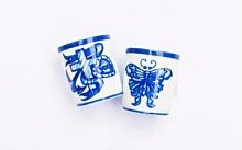 By Mutti - Egg Whiskey Cup - One Size / Blue