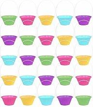 by Robelli Pack of 25 Mini Multicolour Plastic