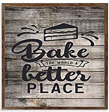 by Unbranded Frame Wood Sign Wooden Quote Sign