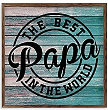 by Unbranded Frame Wood Sign Wooden Quote Sign The