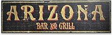 by Unbranded Wood sign, Custom Arizona Bar & Grill