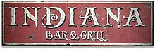 by Unbranded Wood sign, Custom State Bar & Grill