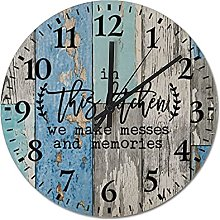 by Unbranded Wooden Wall Clock 12 Inch, In This