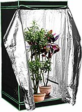Bycloth Indoor Grow Tent Double Layer Grow Box