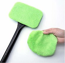 Byfjkkl Auto Window Cleaner Windscreen Microfiber