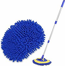 Byfjkkl Microfiber Car Wash Brush Mop Mitt, Car