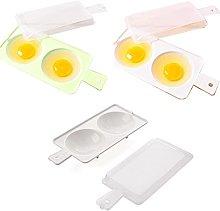 BYFRI 1pc Microwave Oven Egg Poacher, Egg Cookers,